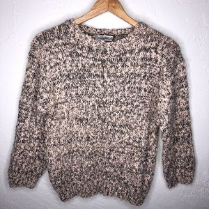 Pale Pink Knit Sweater Vintage